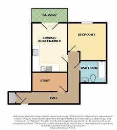 Thumbnail 1 bedroom flat for sale in The Tide, 175 London Road, Southend-On-Sea