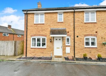 Thumbnail 3 bed end terrace house for sale in St Josephs Way, Lyneham, Chippenham