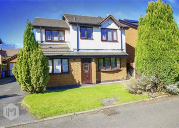 Thumbnail 4 bed detached house for sale in Queen Anne Drive, Worsley, Manchester