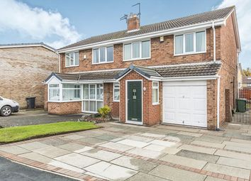 Thumbnail 3 bed semi-detached house for sale in Calverhall Way, Ashton-In-Makerfield, Wigan