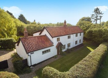 Thumbnail 4 bed cottage for sale in New Road, Ashwellthorpe, Norwich