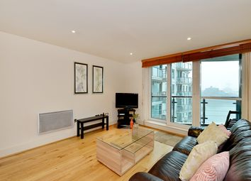 Thumbnail 2 bed flat to rent in 21 St Georges Wharf, London