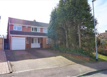 3 bed semi-detached house for sale in Rocklands Crescent, Lichfield WS13