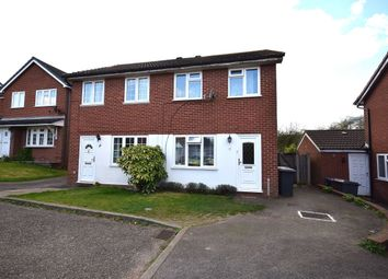 Thumbnail 2 bedroom semi-detached house for sale in Bramble Close, Haverhill
