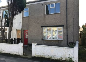 Thumbnail 4 bed end terrace house to rent in Wintringham Road, Grimsby