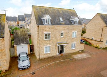 Thumbnail 5 bed detached house for sale in Wellbrook Way, Girton, Cambridge