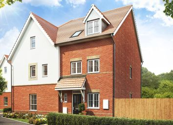"Thumbnail 3 bedroom semi-detached house for sale in ""Padstow"" at Walworth Road, Picket Piece, Andover"