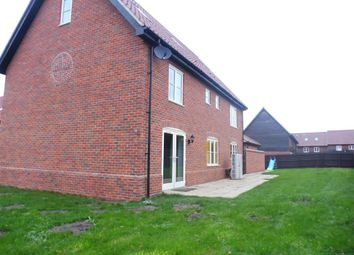 Thumbnail 6 bed detached house to rent in Mount Pleasant Drive, East Harling, Norwich