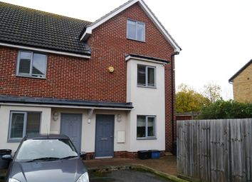 Thumbnail 4 bedroom town house to rent in Foxdene Close, London