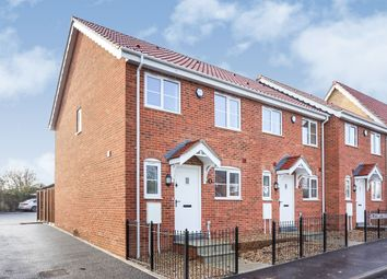 Thumbnail 3 bed end terrace house for sale in Yarmouth Road, Hales, Norwich