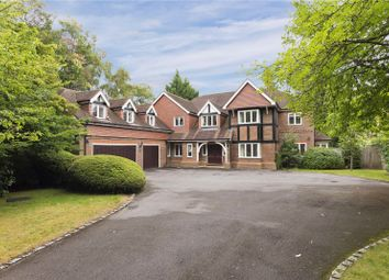 5 bed detached house to rent in Eriswell Crescent, Burwood Park, Walton-On-Thames, Surrey KT12