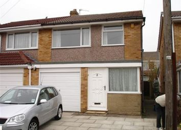 Thumbnail 3 bed semi-detached house to rent in Goodwood Avenue, Fulwood, Preston