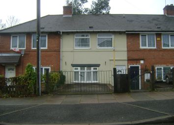 Thumbnail 3 bed terraced house to rent in Sunningdale Road, Tyseley, Birmingham