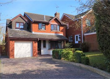 Thumbnail 4 bed detached house for sale in Wensleydale Close, Swindon