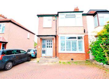 Thumbnail 3 bed semi-detached house for sale in Lavender Avenue, Worcester Park, Surrey