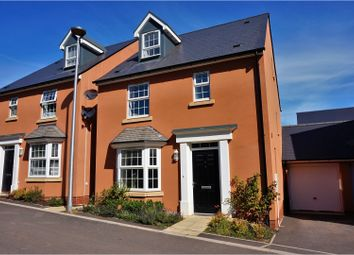 Thumbnail 4 bedroom detached house for sale in Leworthy Drive, Exeter