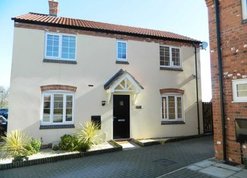 Thumbnail 3 bed detached house for sale in Poppy Road, Witham St Hughs, Lincoln