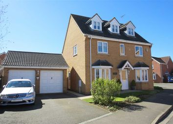 Thumbnail 5 bed detached house for sale in Stephens Way, Sleaford