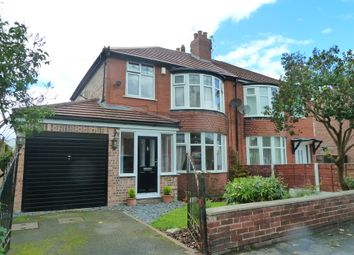 Thumbnail 3 bedroom semi-detached house to rent in Rutland Road, Hazel Grove, Stockport