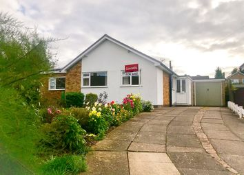 Thumbnail 3 bed detached bungalow for sale in High Leys Drive, Oadby, Leicester