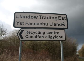 Thumbnail Land to let in Llandow Trading Estate, Cowbridge