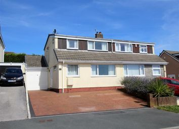 Thumbnail 4 bed semi-detached house for sale in St Edward Gardens, Plymouth