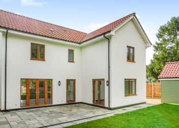 Thumbnail 4 bed detached house for sale in Chediston, Halesworth