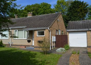 Thumbnail 2 bed semi-detached bungalow to rent in Chesham Rise, Cherry Lodge, Northampton