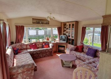 Thumbnail 2 bed mobile/park home for sale in Montalan Crescent, Selsey, Chichester