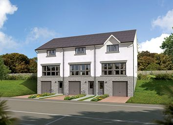 "Thumbnail 3 bedroom terraced house for sale in ""The Fairley Mid"" at Old Lang Stracht, Kingswells, Aberdeen"
