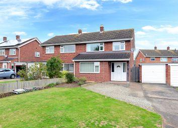 Thumbnail 3 bed semi-detached house for sale in Ashford Drive, Shrewsbury