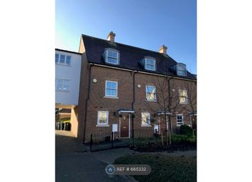 Thumbnail 3 bed end terrace house to rent in Queen Street, Kings Hill, West Malling