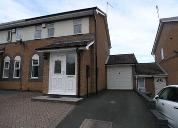 Thumbnail 3 bed semi-detached house for sale in Foxhollies Drive, Halesowen