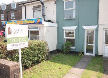 Thumbnail 3 bedroom terraced house to rent in Bridge Road, Lowestoft