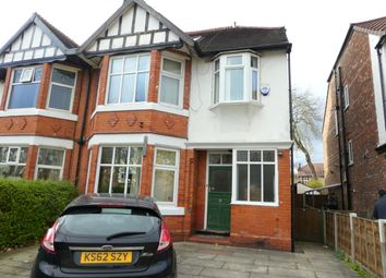 Thumbnail 7 bed semi-detached house to rent in Sheringham Road, Manchester