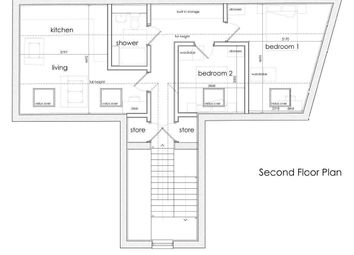 Thumbnail 2 bedroom flat to rent in Seamoor Lane, Westbourne, Bournemouth