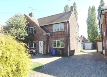 Thumbnail 3 bedroom semi-detached house for sale in Lawn Avenue, Woodlands, Doncaster