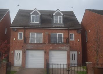 Thumbnail 3 bed semi-detached house to rent in Rowan Tree Court, Outwood, Wakefield