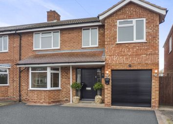 Thumbnail 4 bedroom semi-detached house for sale in Vesey Close, Water Orton, Birmingham