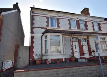 Thumbnail 3 bed end terrace house for sale in Court Road, Barry
