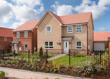 "Thumbnail 4 bed detached house for sale in ""Radleigh"" at Beech Croft, Barlby, Selby"
