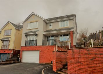 Thumbnail 6 bed detached house for sale in Oaks Court, Pontypool