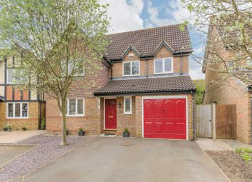 Thumbnail 4 bedroom detached house for sale in Cranwell Close, Shenley Brook End, Milton Keynes