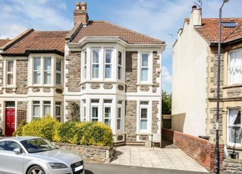 Thumbnail 3 bed end terrace house for sale in Seymour Road, Bishopston, Bristol