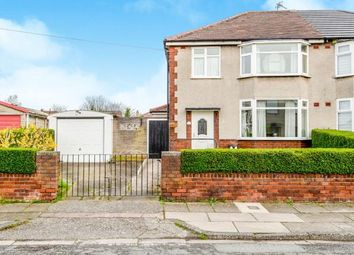 Thumbnail 3 bed semi-detached house for sale in Tudor Road, Hunts Cross, Liverpool, Merseyside