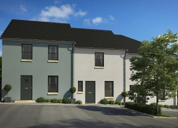 Thumbnail 3 bedroom end terrace house for sale in Tarka View, Crediton, Devon