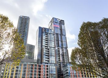Thumbnail 3 bed flat for sale in Maine Tower, Harbour Central, London