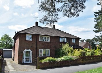 Thumbnail 3 bed semi-detached house for sale in Upper College Ride, Camberley, Surrey