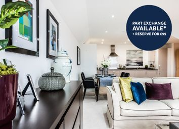 Thumbnail 2 bed flat for sale in Pilots View, Chatham