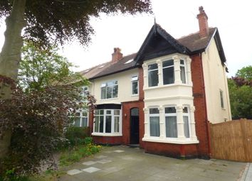 Thumbnail 6 bed semi-detached house for sale in College Road North, Crosby, Liverpool